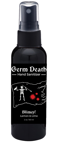 Germ Death Hand Sanitizer - Blimey!