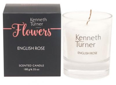 Kenneth Turner English Rose Candle