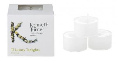 Kenneth Turner Unscented Tealights