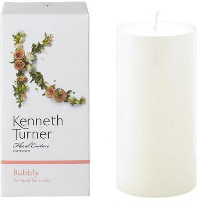 Kenneth Turner Pillar Candle - Bubbly