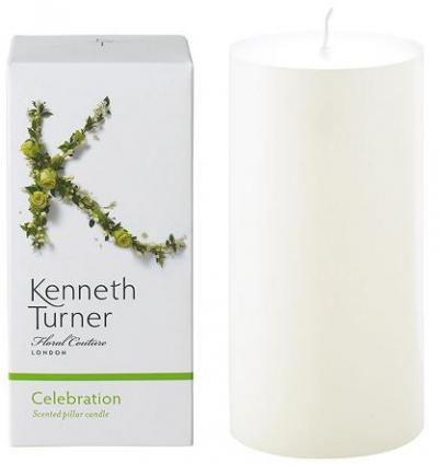 Kenneth Turner Pillar Candle - Celebration