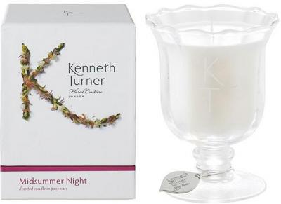 Kenneth Turner Candle in Posy Vase - Midsummer Night