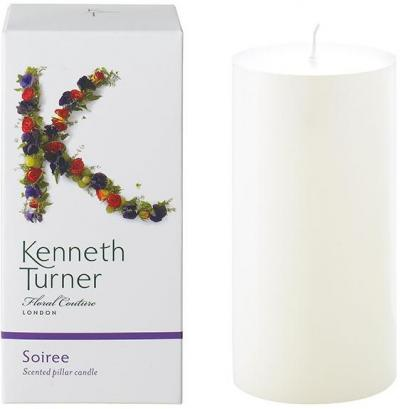 Kenneth Turner Pillar Candle - Soiree
