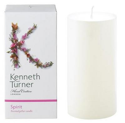 Kenneth Turner Pillar Candle - Spirit