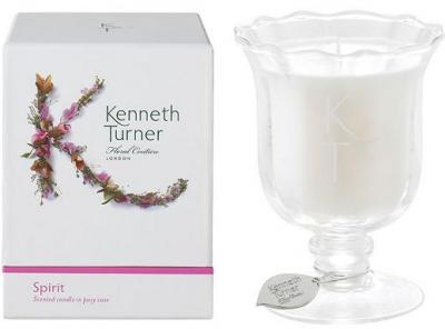 Kenneth Turner Candle in Posy Vase - Spirit