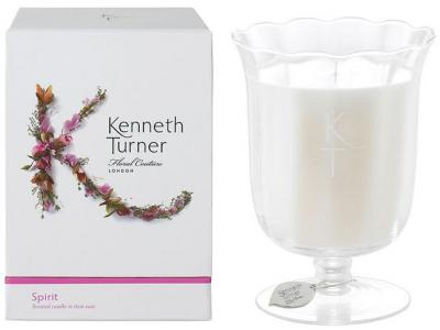 Kenneth Turner Candle in Stem Vase - Spirit