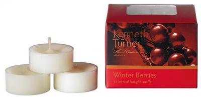 Kenneth Turner Tea Light candles - Winter Berries