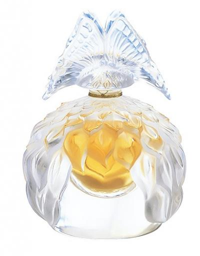 "LALIQUE COLLECTIBLE CRYSTAL FLACON ""BUTTERFLY"""