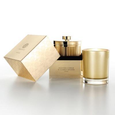 Amouage Gold Candle & Candle Holder