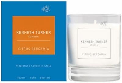 Kenneth Turner Citrus Bergamia Candle in Glass