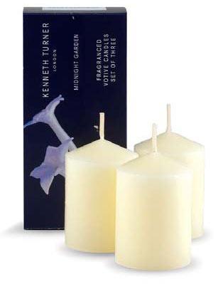 Kenneth Turner Midnight Garden Votive Candles