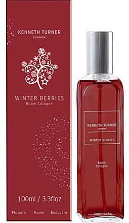 Kenneth Turner Winter Berries Room Cologne Spray