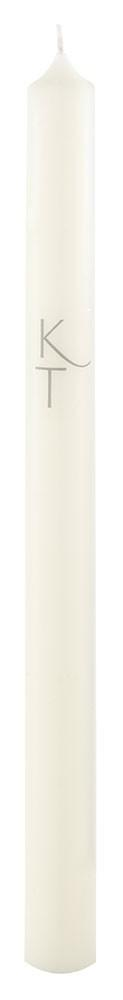 Kenneth Turner Ivory Chapel Candle 300/22mm