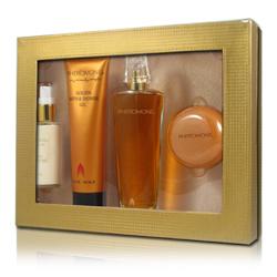 Pheromone Perfume Gift Set - Matte Gold